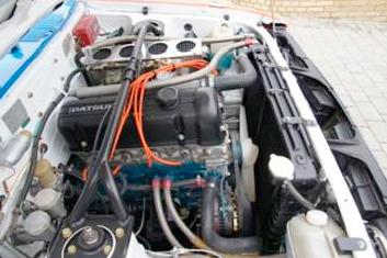 Kidney Anyone 64 000 Nissan Stanza Ex Works Rally Car