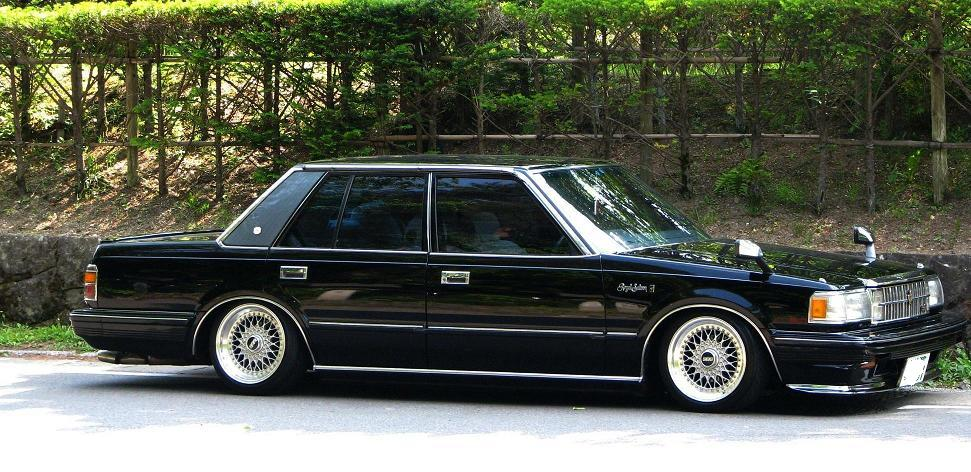 Vip S120 Toyota Crown Royal Saloon Japanese Nostalgic Car