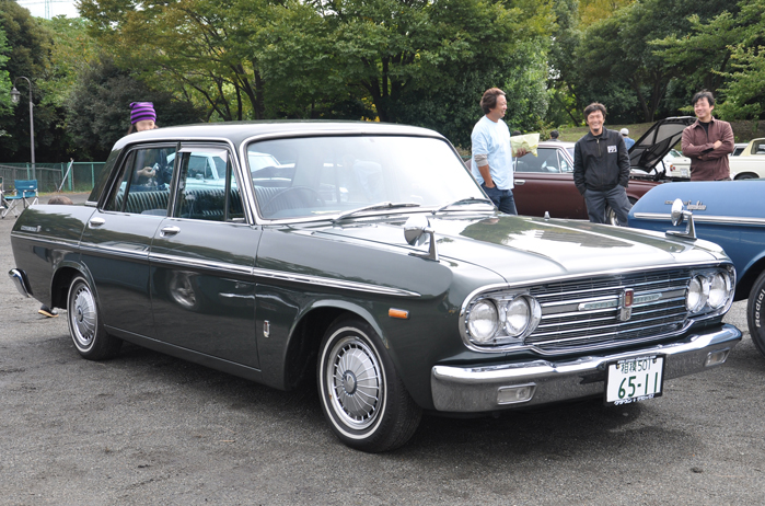 Mooneyes Toyota Crown Picnic Japanese Nostalgic Car