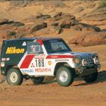 1985 Mitsubishi Pajero Dakar 02