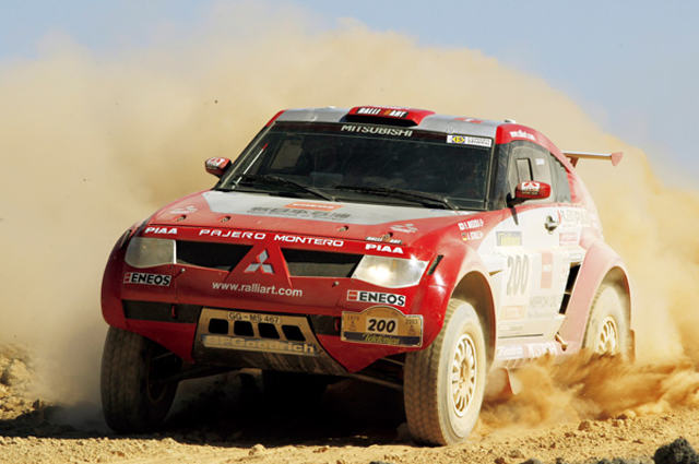 Toyota Route 4 >> A Gallery of Mitsubishi's Dakar Rally Cars | Japanese ...
