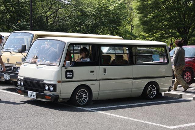 Nissan caravan vans http japanesenostalgiccar com 2011 06 06 events