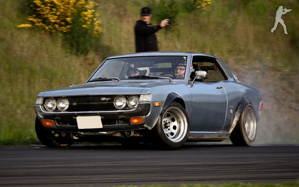 Toyota Celica Drift Machine Japanese Nostalgic Car