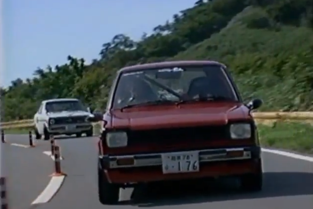 Friday Video: B110 Sunny & KP61 Starlet Take to the Hills | Japanese ...