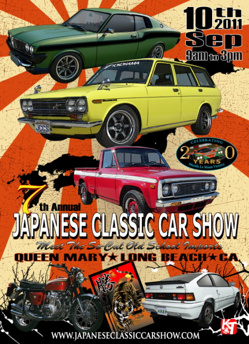 2011 Japanese Classic Car Show Registration Now Open Japanese
