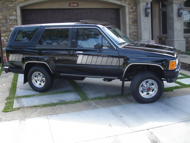 kidney anyone 38 000 mile 1985 toyota 4runner japanese. Black Bedroom Furniture Sets. Home Design Ideas