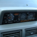 1985 Toyota 4Runner SR5 inclinometer