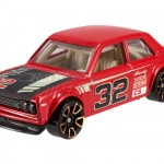 Hot Wheels Datsun Bluebird 510 - red Faster than Ever 01