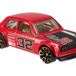 Hot Wheels Datsun Bluebird 510 - red Faster than Ever 02