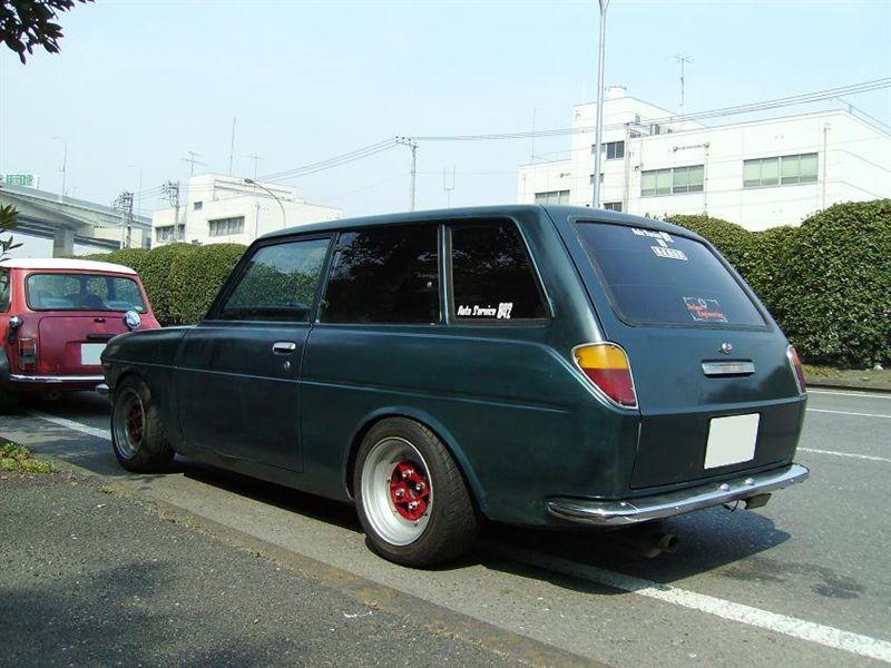 Wagon Want: KP37V Toyota Publica Van | Japanese Nostalgic Car
