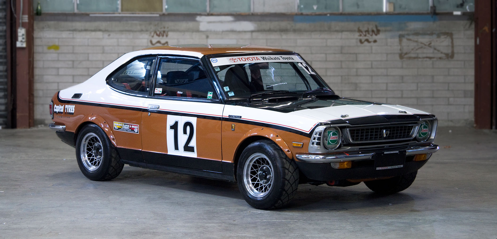 Kidney, Anyone? Vintage TE27 Toyota Corolla Levin Rally Car ...