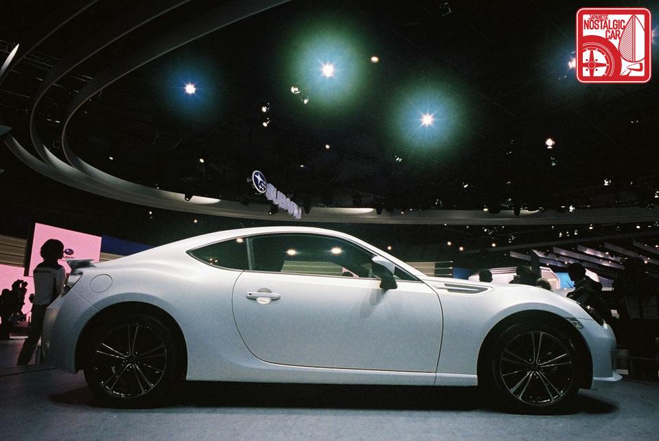 2011 Tokyo Motor Show Toyota 86 And Subaru Brz Unveiled Japanese