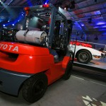 Scion_FRS_debut_Toyota_fork_lift