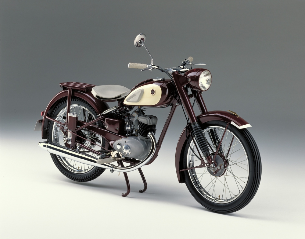 yamaha y125 moegi is your retro 1955 ya 1 motorcycle