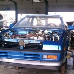 1986 Subaru XT Turbo Alcyone restoration  16