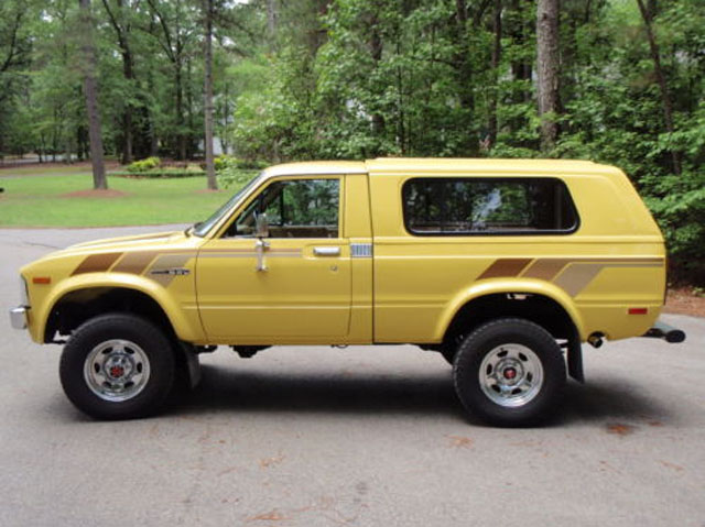 Kidney Anyone Frame Off Restored 1981 Toyota Hilux