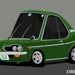 Superdeformed Honda Coupe 9
