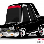Superdeformed Mitsubishi Debonair