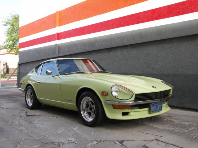 for sale victor laury s 1972 datsun 240z japanese nostalgic car. Black Bedroom Furniture Sets. Home Design Ideas