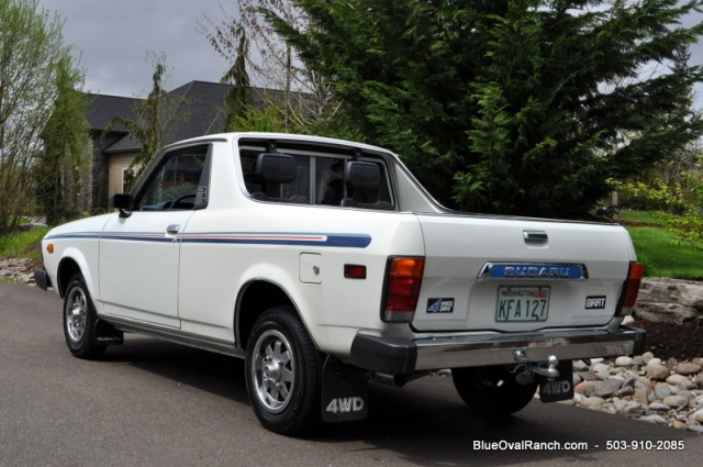kidney anyone 44 000 mile 1979 subaru brat japanese nostalgic car. Black Bedroom Furniture Sets. Home Design Ideas