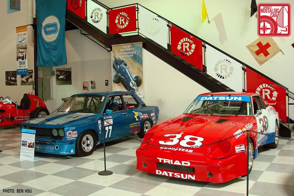 John Morton tribute at the Riverside International Auto Museum ...