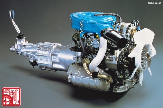 12A Mazda Rotary Engine SA22C