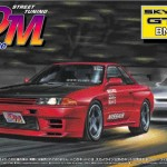 nissan skyline r32 gt-r - red, black - drift machine