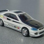 scalemaster custom hot wheels honda civic si - white, black 3