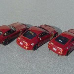 scalemaster custom hot wheels nissan 350z - maroon, gold 2