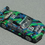 scalemaster custom hot wheels nissan skyline gt-r - black, green, hks 5