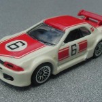 scalemaster custom hot wheels nissan skyline gt-r - white, red kurosawa 1