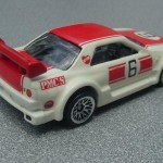 scalemaster custom hot wheels nissan skyline gt-r - white, red kurosawa 2