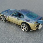 scalemaster custom hot wheels super tsunami - ltblue, gold 2