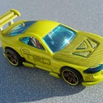 scalemaster custom hot wheels super tsunami - yellow 1