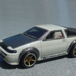 scalemaster custom hot wheels toyota ae86 corolla 01