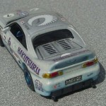 scalemaster custom hot wheels toyota mr2 - white, silver, blue 3