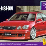 toyota aristo 3.0v - red - vip 1