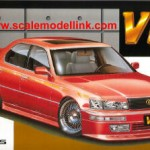 toyota celsior - red - vip
