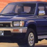 toyota hilux surf ssr limited - dark blue