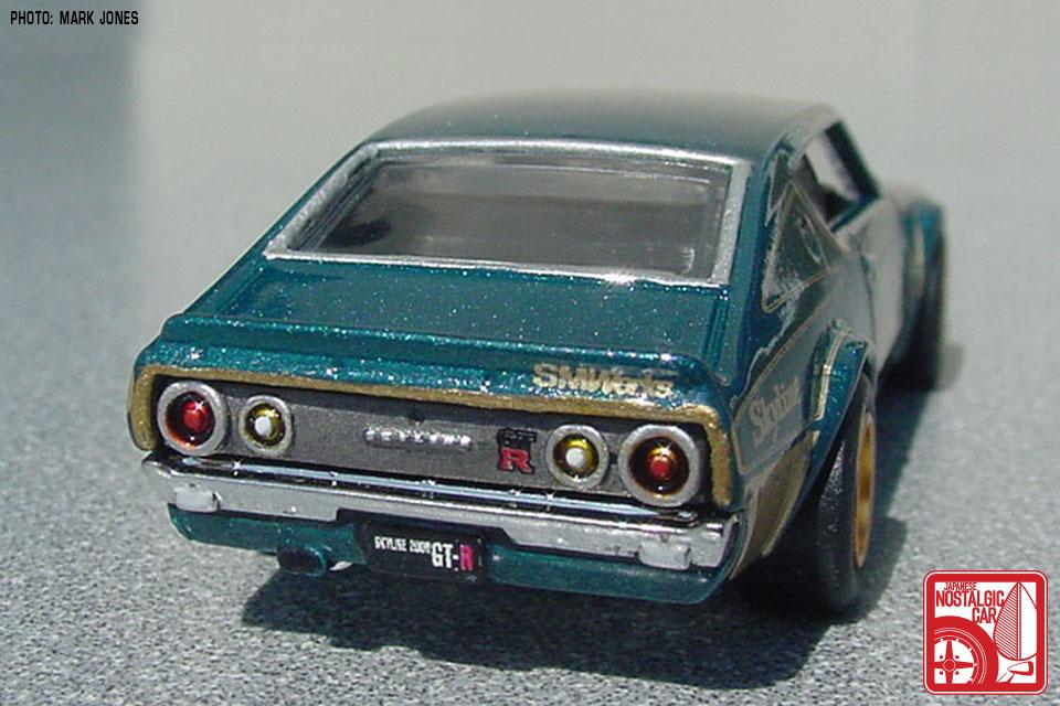 minicars  custom hot wheels 1972 nissan skyline gt