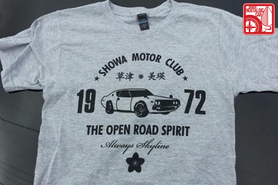 JNC Showa Motor Club shirt