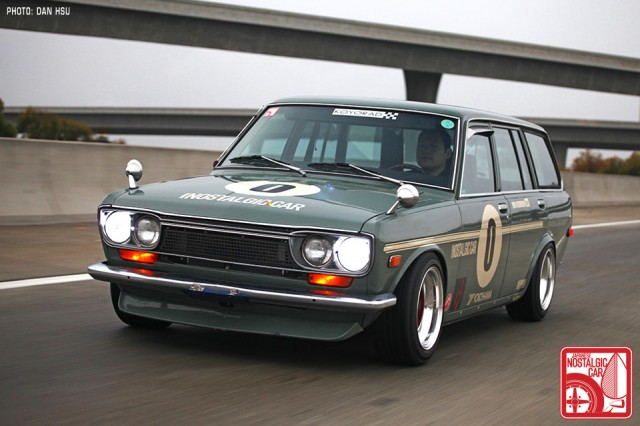 1971 Datsun 510 Wagon Race Car In Action Racing On The Cheap