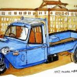 1957 Mazda HBR-type