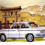 1965 Mazda Familia Coupe