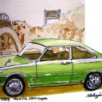 1968 Mazda Familia 1200 Coupe