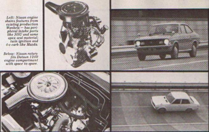 HISTORY LESSON: Datsun's Own Rotary Engine, the 1972 Sunny