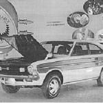 1972 Datsun Sunny RE motor show