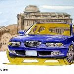 1992 Mazda Eunos 500 blue