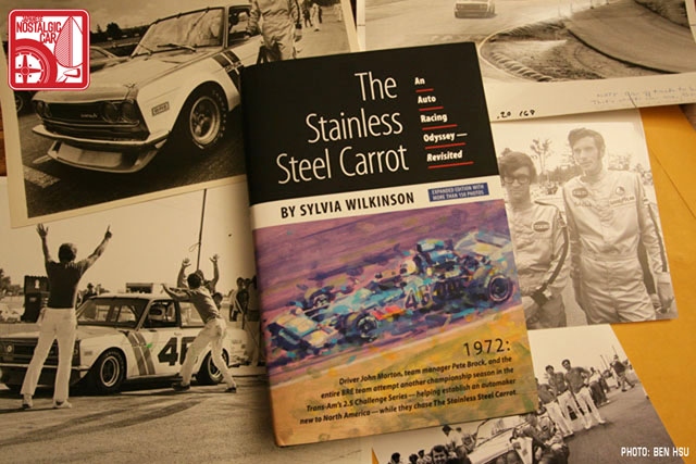 The Stainless Steel Carrot by Sylvia Wilkinson – John Morton cover