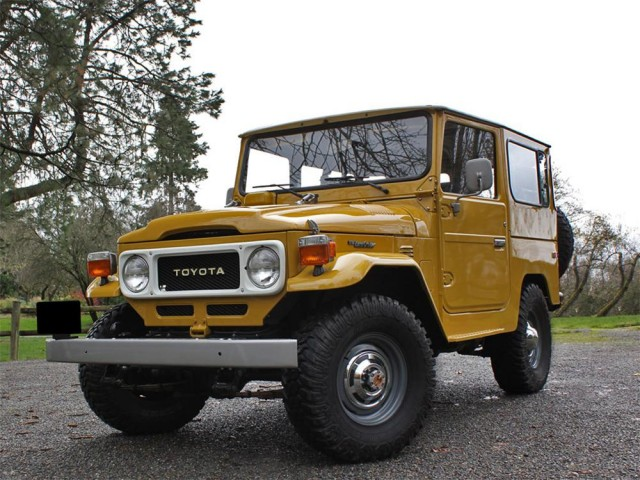 News Classic Toyota Land Cruisers Go For Record Prices At 2013